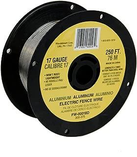 Fi-Shock FW-00018D 250-Feet 17 Gauge Spool Aluminum Wire