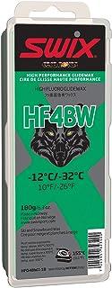 Swix HF04BWX-18 Cera Nova X High Fluoro Wax with BW Additive, Green, 180gm