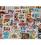 Goldhahn 50 Weihnachten Briefmarken für Sammler