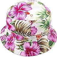 Bucket Hats Cotton Retro Hawain