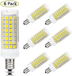 CTKcom GE Lighting 6W LED Bright Stik Light Bulbs E27 Base Warm White 3000K Bulbs 40W Equivalent Ultra Bright 450lm Lamp 240 Degree Beam Angle Cylindrical Shape Light Bulb 100-240V,4 Pcak 4 Pack