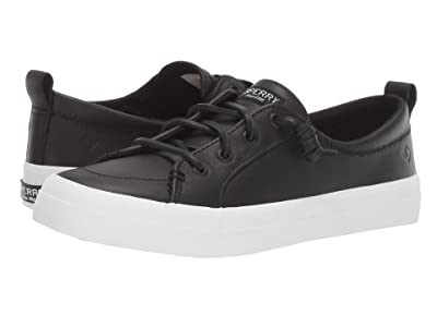 Sperry Crest Vibe Leather (Black) Women