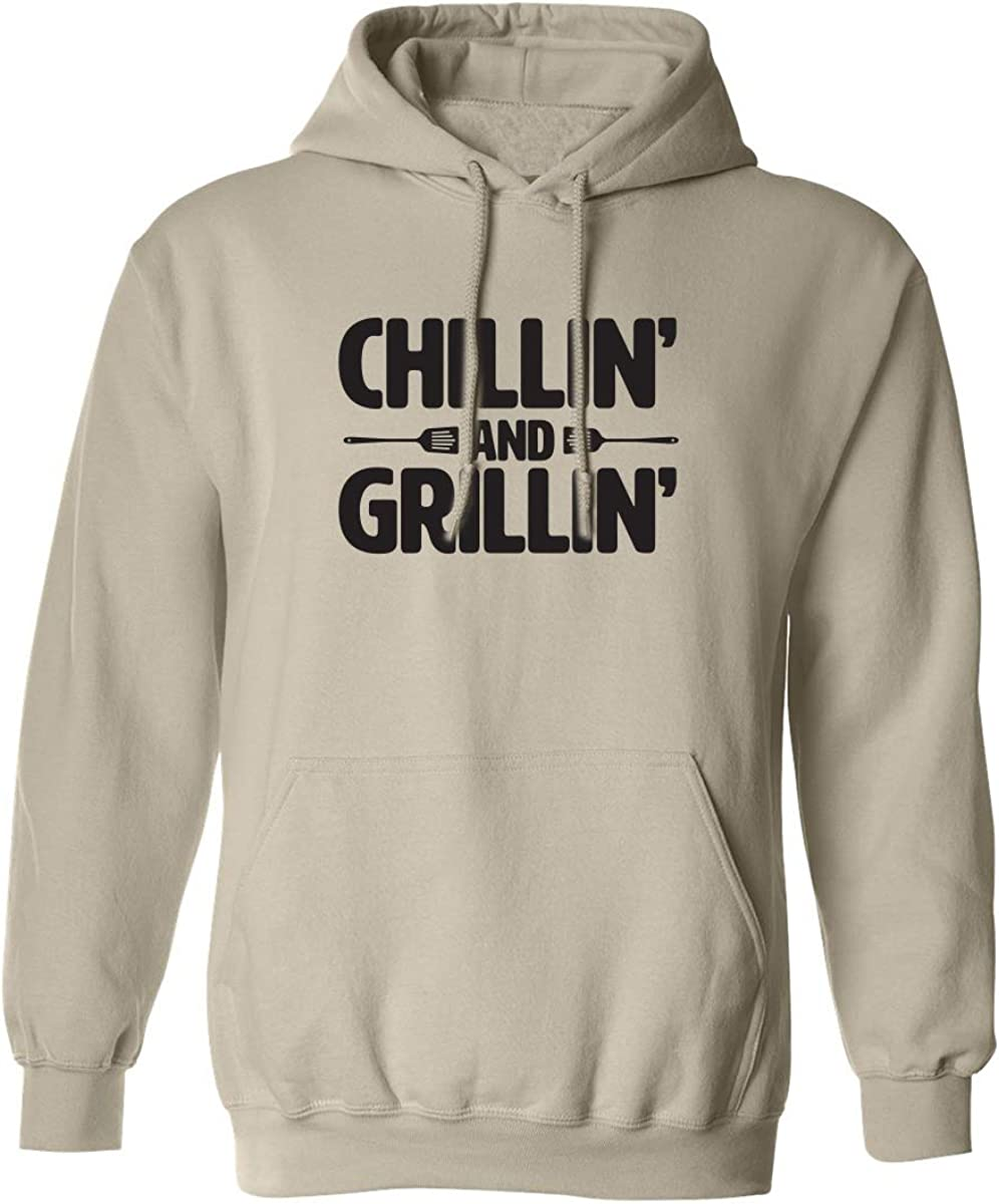 Chillin' And Grillin' Adult Hooded Sweatshirt