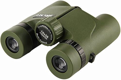 ALHM-F Jumelles 10x26 HD Lunettes de Vision Nocturne portables Imperméables Extérieurs portables étendue