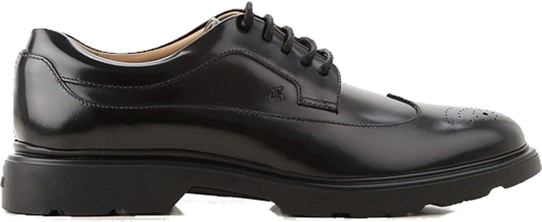 Hogan. H304 Strecke Schuhe Derby Modell - HXM3930BH706Q6B999 - schwarz