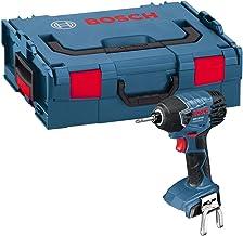 Bosch Professional 06019A130C Taladro atornillador a batería, 454 W, 18 V, Negro, Azul, Rojo, Plata