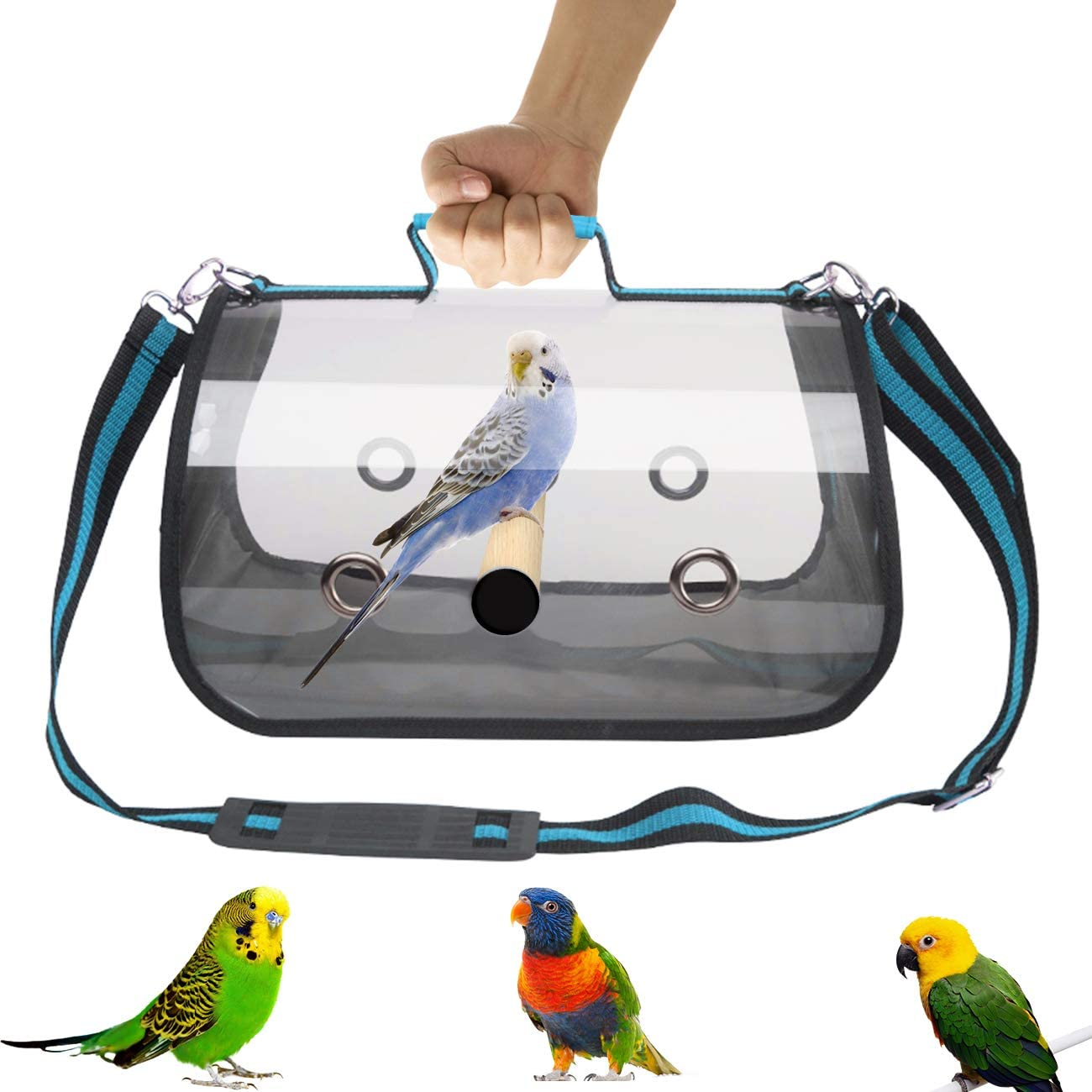 GABraden Lightweight Bird Carrier Travel Cage(Large-1 Limited time Special Campaign for free shipping
