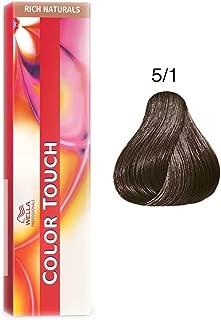 Wella Color Touch 5/1 (Light Brown/Ash) 2oz