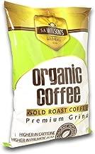S.A. Wilson's Organic Enema Coffee Gold Roast Enema – Colonic Cleanse – Colon Hydrotherapy – Full body cleanse – Cafe organico para enemas - 100% USDA Certified Organic (1 lb)