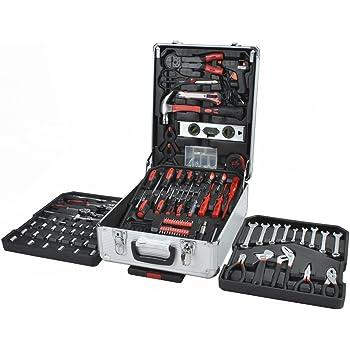 Juego de herramientas en estuche 187 uds.: Amazon.es: Hogar