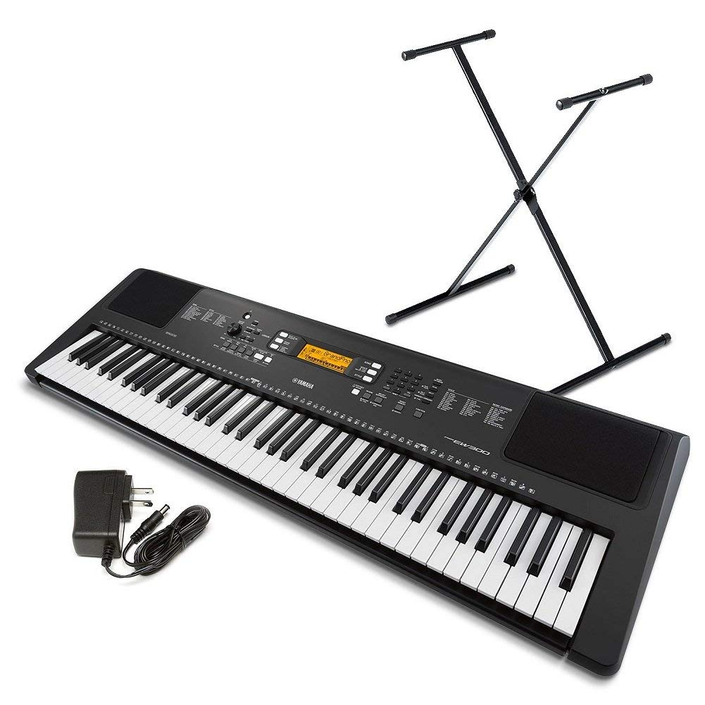 Yamaha PSR EW300 76 Key Portable Keyboard