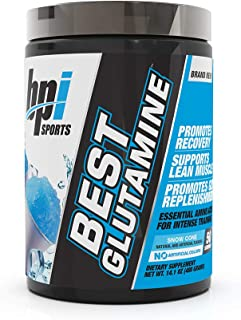 Best Glutamine Essential Amino Acid for Intense Training, Snow Cone, 14.1 Ounce