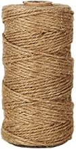 Shintop 328 Feet Natural Jute Twine Best Industrial Packing Materials Heavy Duty Natural Jute Twine for Arts and Crafts an...