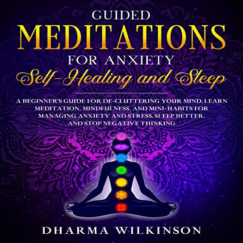 Guided Meditations for Anxiety cover art