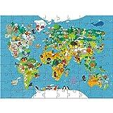 HABA 302003 Puzzle Puzzle - Rompecabezas (Puzzle Rompecabezas, Mapas, Niños, World Map, 6 año(s), Cartón)