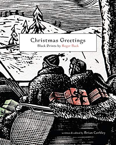 Christmas Greetings: Block Prints by Roger Buck