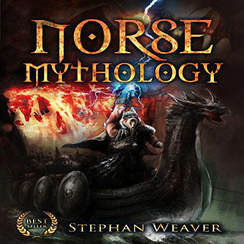 Couverture de Norse Mythology: Gods, Heroes and the Nine Worlds of Norse Mythology (Norse Myths - Norse Gods - Viking Mythology - Viking Gods - Thor - Loki - Odin - ... - Egyptian - Mythology Trilogy Book 2)