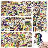 Arcobaleno Adesivi, PietyPet 200 Pezzi Graffiti Stickers Vinili Adesivo Decalcomanie per A...