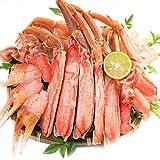 生ズワイガニ【大ぶり 贅沢な甘み】特選盛り合わせ1kg(1.25kg)セット/船内で瞬間冷凍 しゃぶしゃぶ かに刺し ずわい蟹 ずわいがに カニ鍋