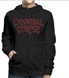 DressCode Cannibal Corpse - Mens Red Before Black Zip Hoodie