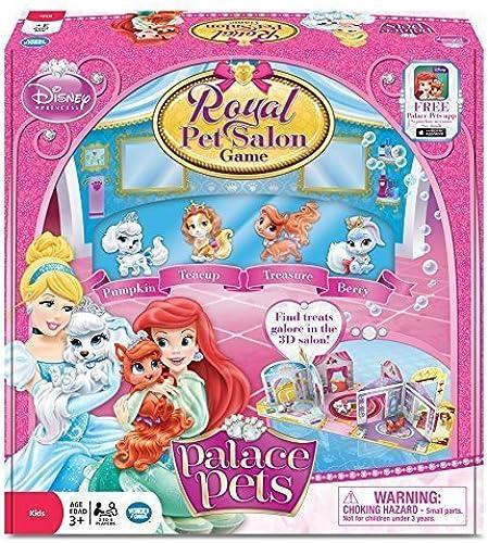 Disney Princess Palace Royal Pet Salon Board Game by Wonder Forge