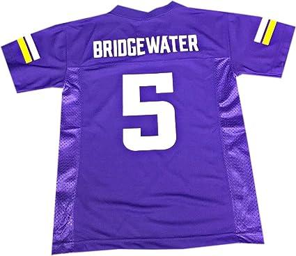Teddy Bridgewater Minnesota Vikings #5 Purple NFL Youth Home Mid Tier Jersey