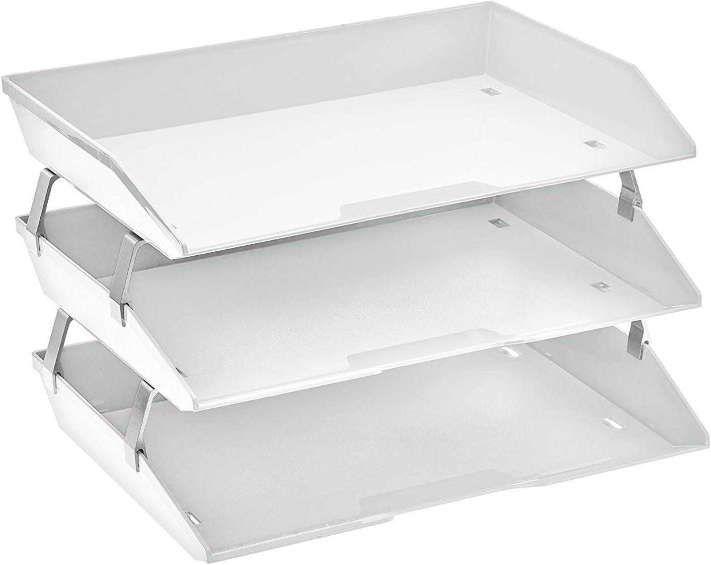 Acrimet Facility 3 Tier Letter Tray online shop Side 55% OFF Fi Plastic Load Desktop