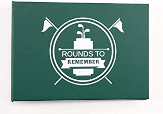 Golf Scorecard Album Keeper | Rounds to Remember