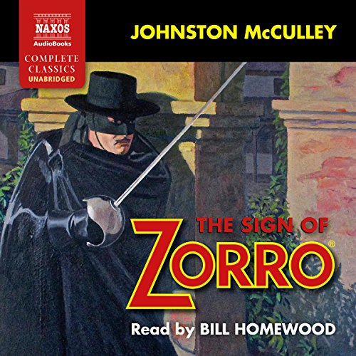 The Sign of Zorro audiobook cover art