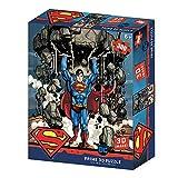 Prime 3D- Puzzle lenticular Redstring - DC Comics Superman montaña 300 Piezas (Efecto 3D), Multicolor