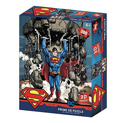 Puzzle lenticular Redstring DC Comics Superman montaña 300 Piezas (Efecto )