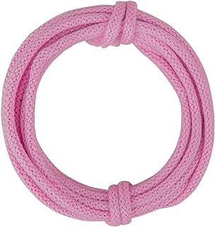 Rayher 55937264 Strickschlauch mit Draht, 5mm, pink, 3m, normal
