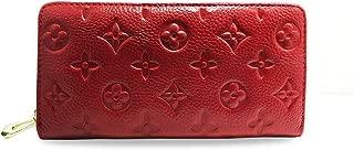 Auner Women RFID Blocking Wallet Leather Zip Around Clutch Large Travel Purse