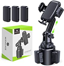 ?2020 Upgraded? Cup Holder Phone Mount,Miracase Long Neck Never Shake Car Cup Phone Holder Cradle Car Mount for iPhone 11 Pro/XR/XS Max/X/8/7 Plus/6s/Samsung S10/Note 9/S8 Plus/S7,GPS etc