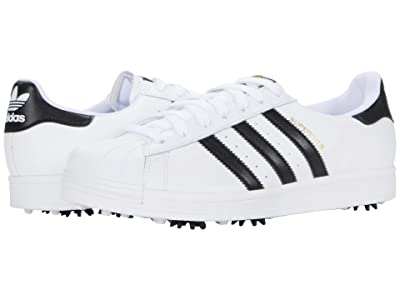 adidas Golf Superstar Golf (White/Black) Men