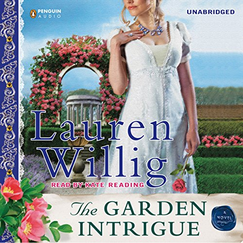 The Garden Intrigue audiobook cover art