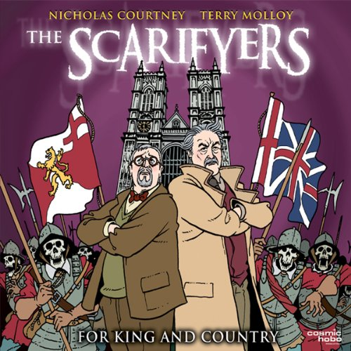 The Scarifyers: For King and Country audiobook cover art
