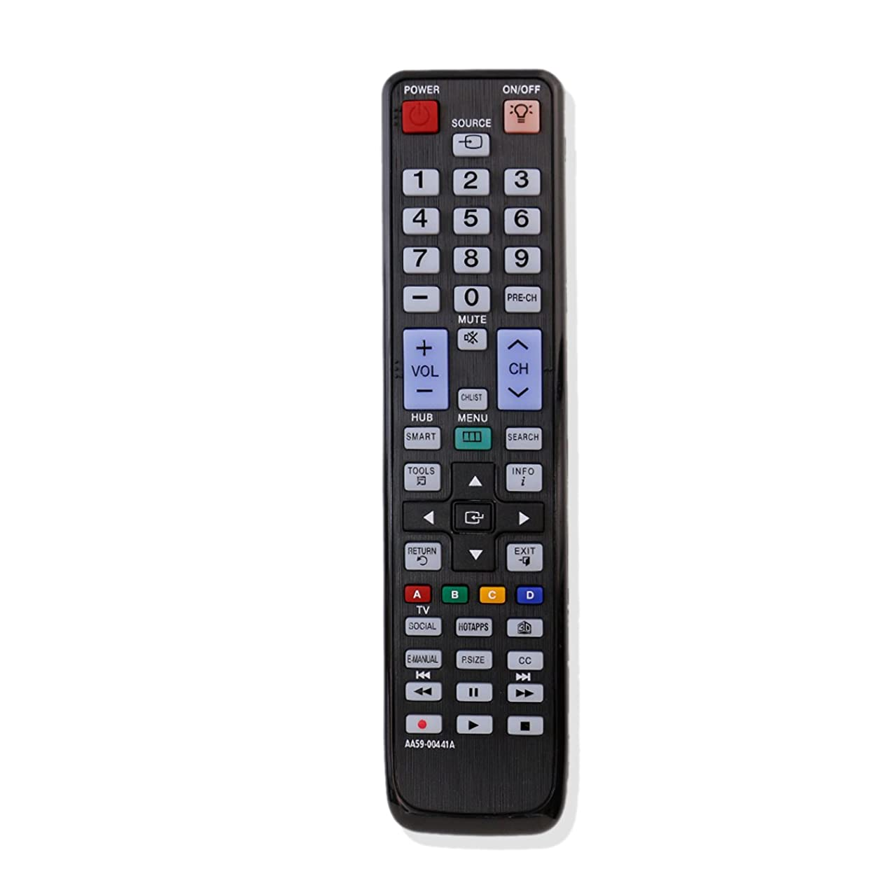 ZdalaMit AA59-00441A Replaced Remote Control Fit for Samsung LCD LED HDTV TV UN60D6420UFXZA UN55D6420UF UN46D6420UF UN46D6420UFXZA UN46D6420UFXZC UN55D6420UFXZA UN55D6420UFXZC