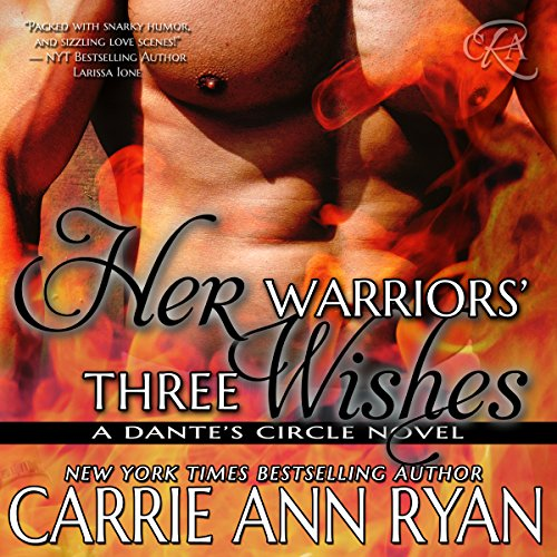 Her Warriors' Three Wishes audiobook cover art