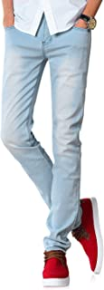 Demon&Hunter 808 Series Hombre Pantalones Vaqueros Caballero Flaco Skinny