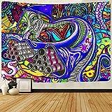DIY Pintar por números Pintura art deco misteriosa arabesco abstracto psicodélico pintura digital por números Con pincel y pintura acrílica, pintura para adultos por números,50x60cm(Sin marco)