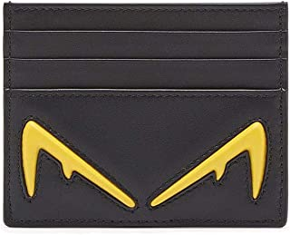 Luxury Fashion | Fendi Mens 7M0164A80SF025G Black Card Holder | Fall Winter 19