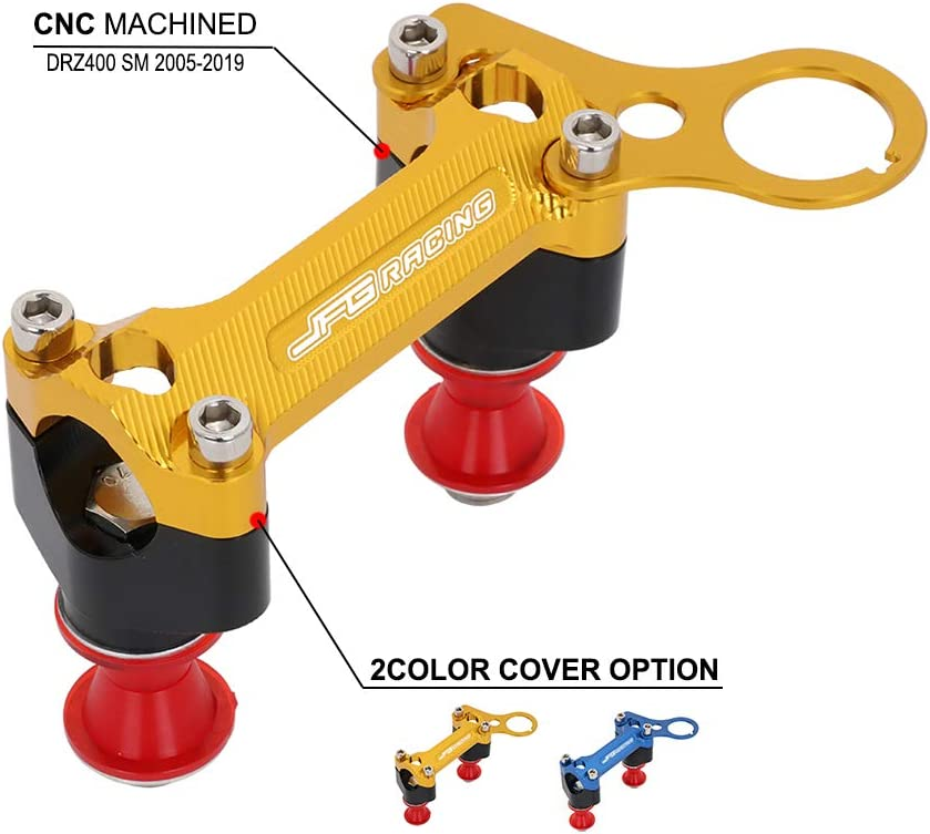 JFG RACING Dirt Bike Handlebar Clamps with Risers 28m Mounts CNC Max Factory outlet 82% OFF