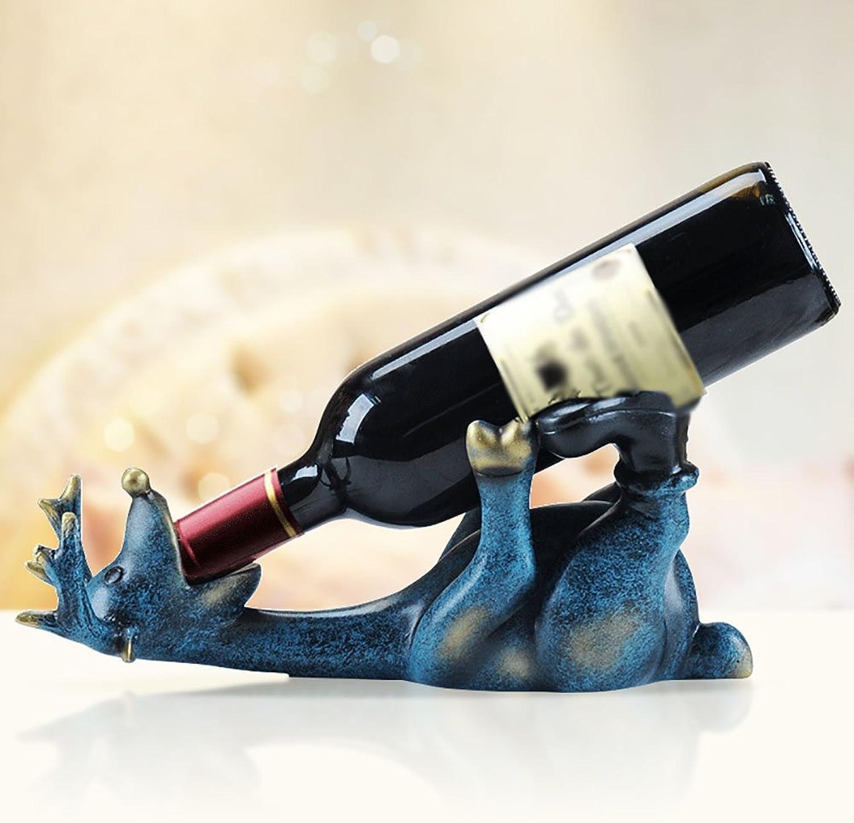 todos los bienes son especiales PD Decoraciones del Gabinete del del del Vino De La Sala De Estar del Vino Rojo Creativo Simple Nórdico Moderno De Los Ciervos (Color   Azul)  Envío rápido y el mejor servicio