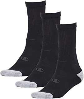 Champion Men's Authentic Crew Cut Socks (3 Pair)