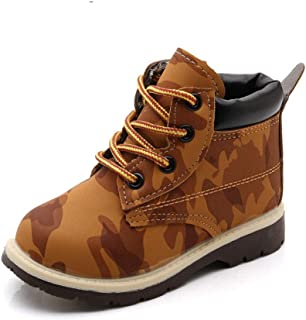 Kids Boots for Girls Boys Kids Army Children Winter Boots Baby Flat Casual Sport Running Shoes