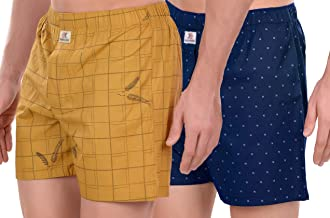 SIDEKICK Men's Cotton Boxers/Shorts - Combo
