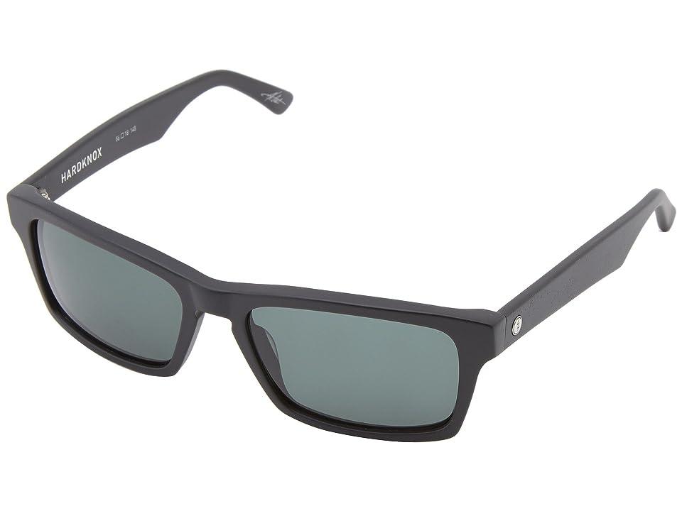 Electric Eyewear Hardknox (Matte Black/M Grey) Plastic Frame Sport Sunglasses