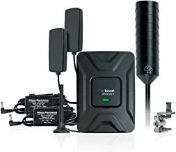 weBoost Drive 4G-X OTR Cell Phone Signal Booster for Truckers, Big Rig to Vehicle Bundle, Includes Mini Mag and in-Vehicle Server Antennas, AC/DC/CLA Power Supply. Boosts 4G/LTE/3G Signals