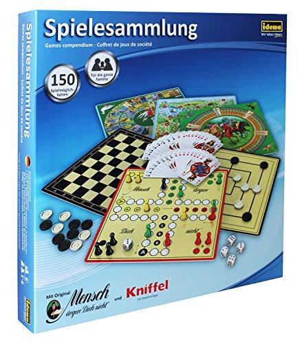 Idena 6102589 – gameverzameling met 150 speelmogelijkheden.